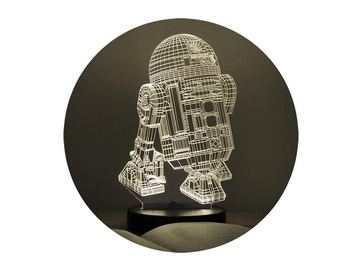 3D ночник «R2D2»