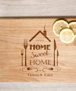 """Разделочная доска """"Home sweet home"""""""