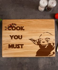 "Дубовая разделочная доска ""Cook you must"""