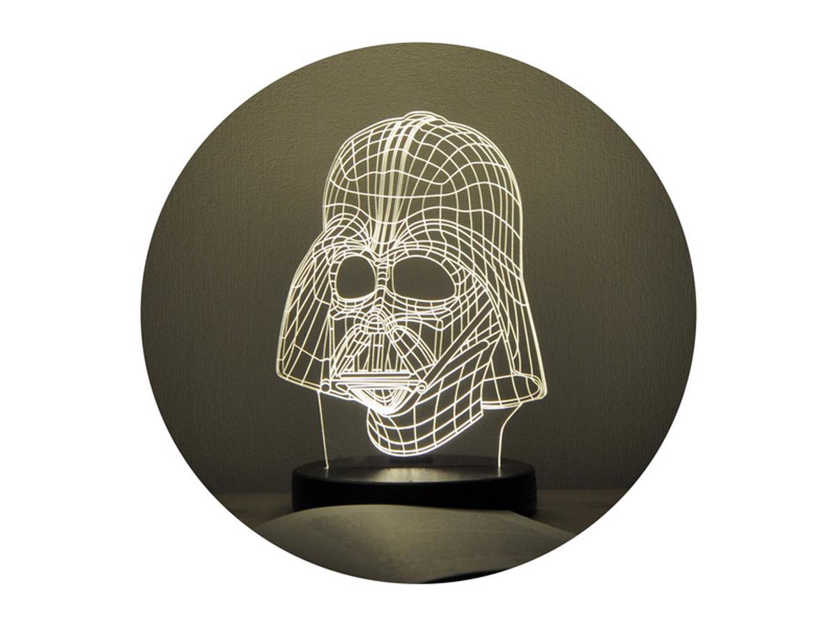 3D светильник «Дарт Вейдер»