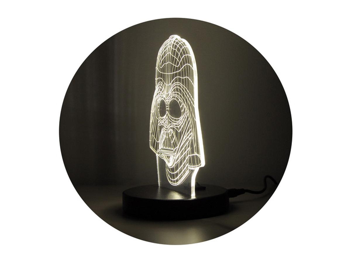"3D светильник ""Дарт Вейдер"""