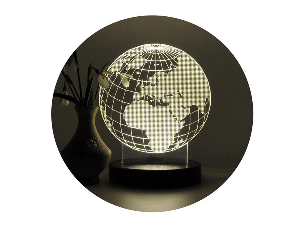 3D светильник «Глобус»