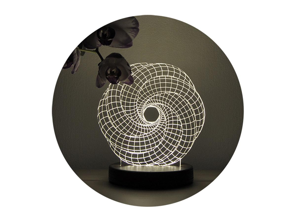 3D светильник » Зигзаг»