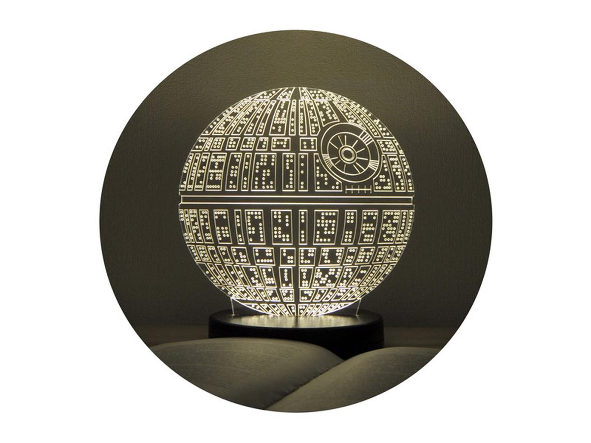 3D ночник «Звезда Смерти»