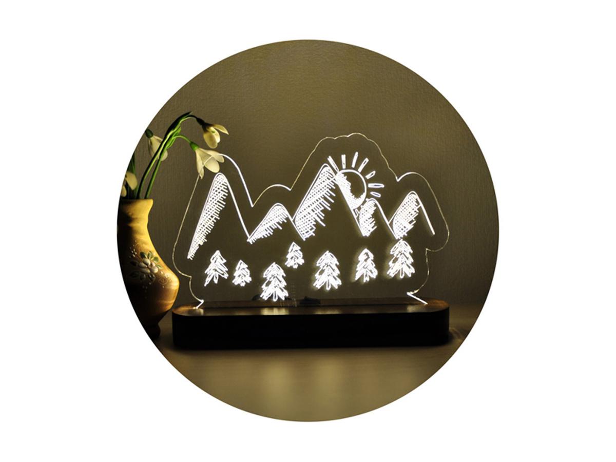 Ночник «Горы»