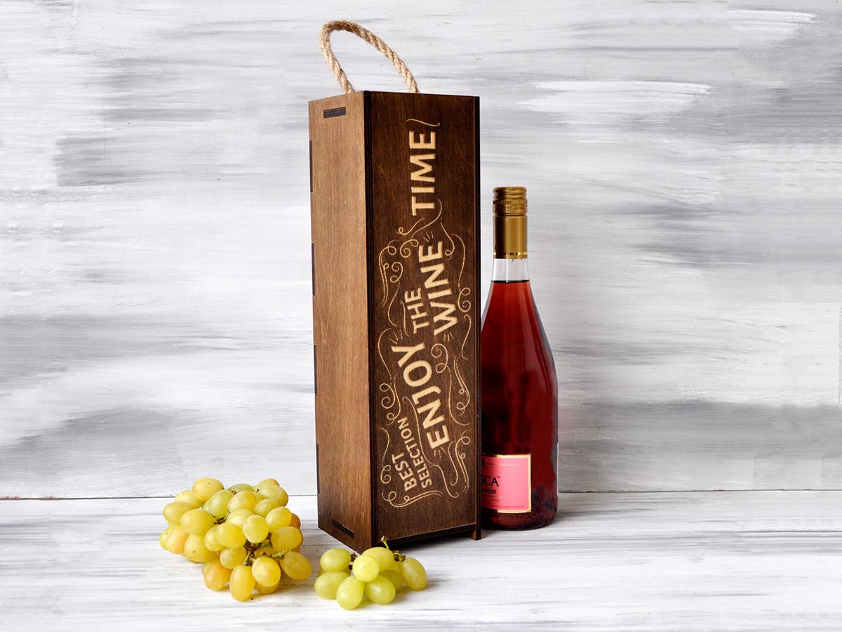 Винная коробка «Wine time»