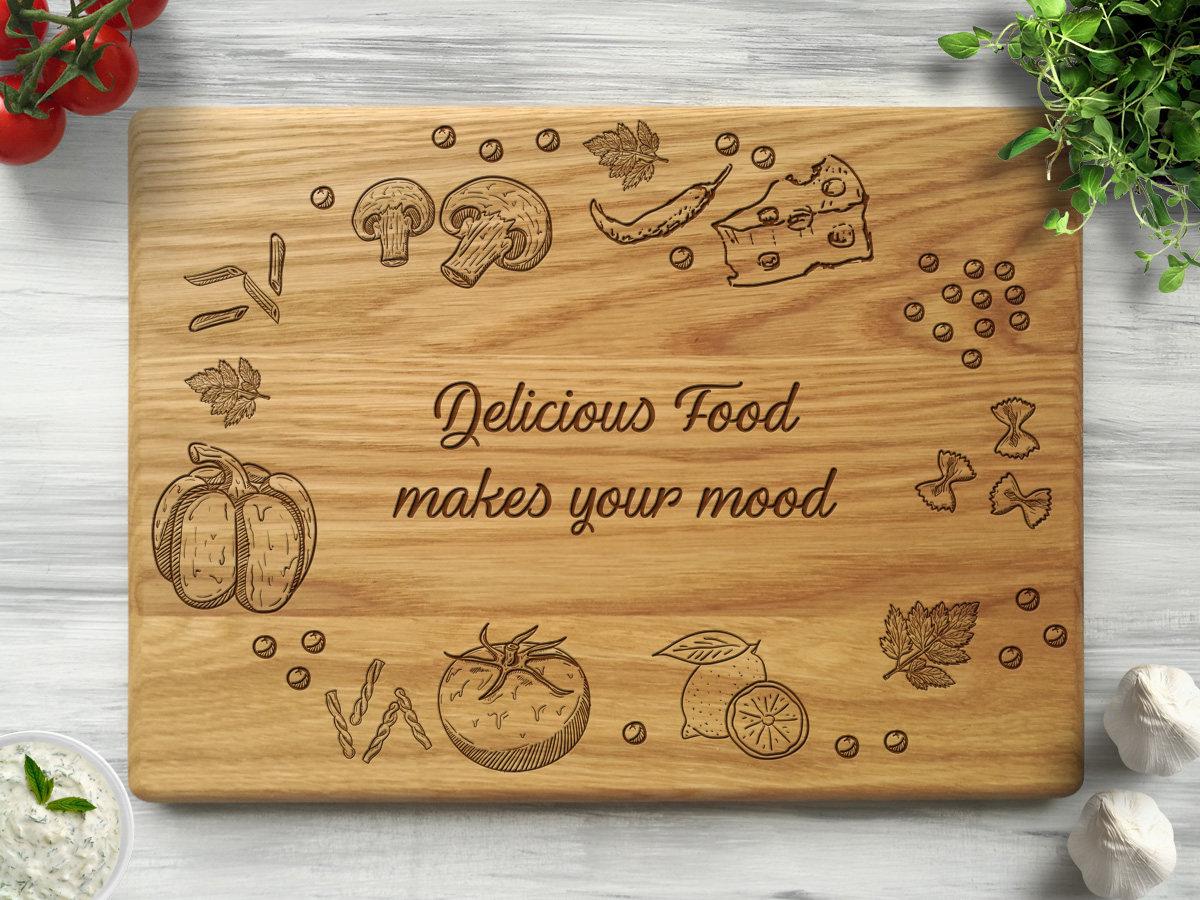Кухонная доска «Вкусный микс»