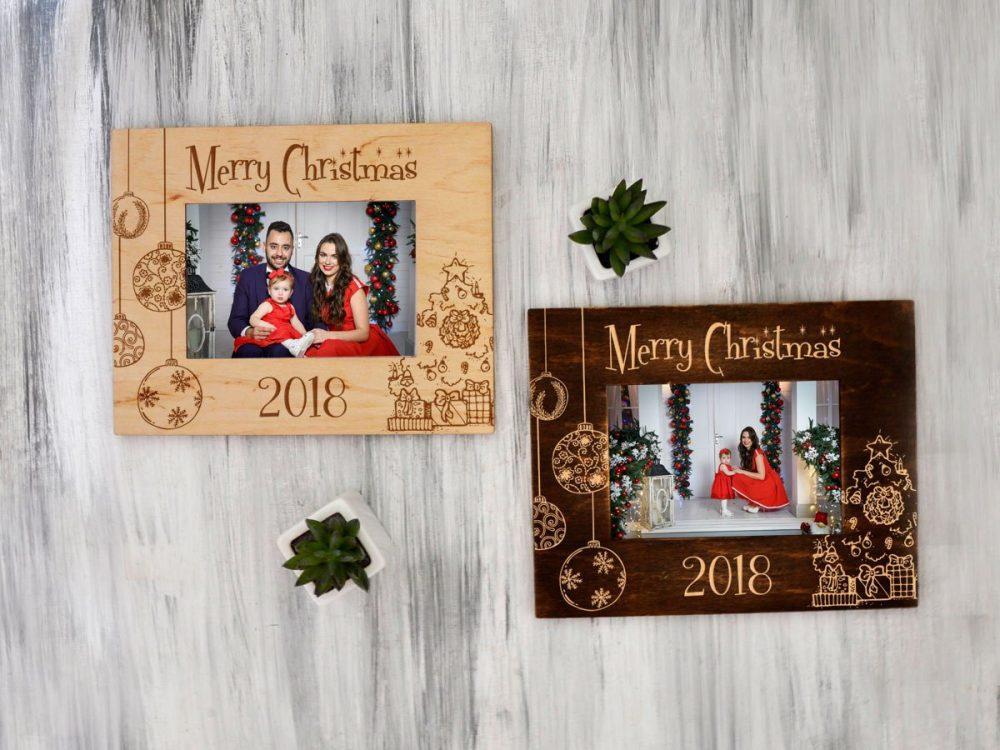 """Новогодняя рамка для фото """"Merry Christmas"""""""