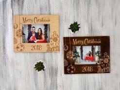 Новогодняя рамка для фото «Merry Christmas»