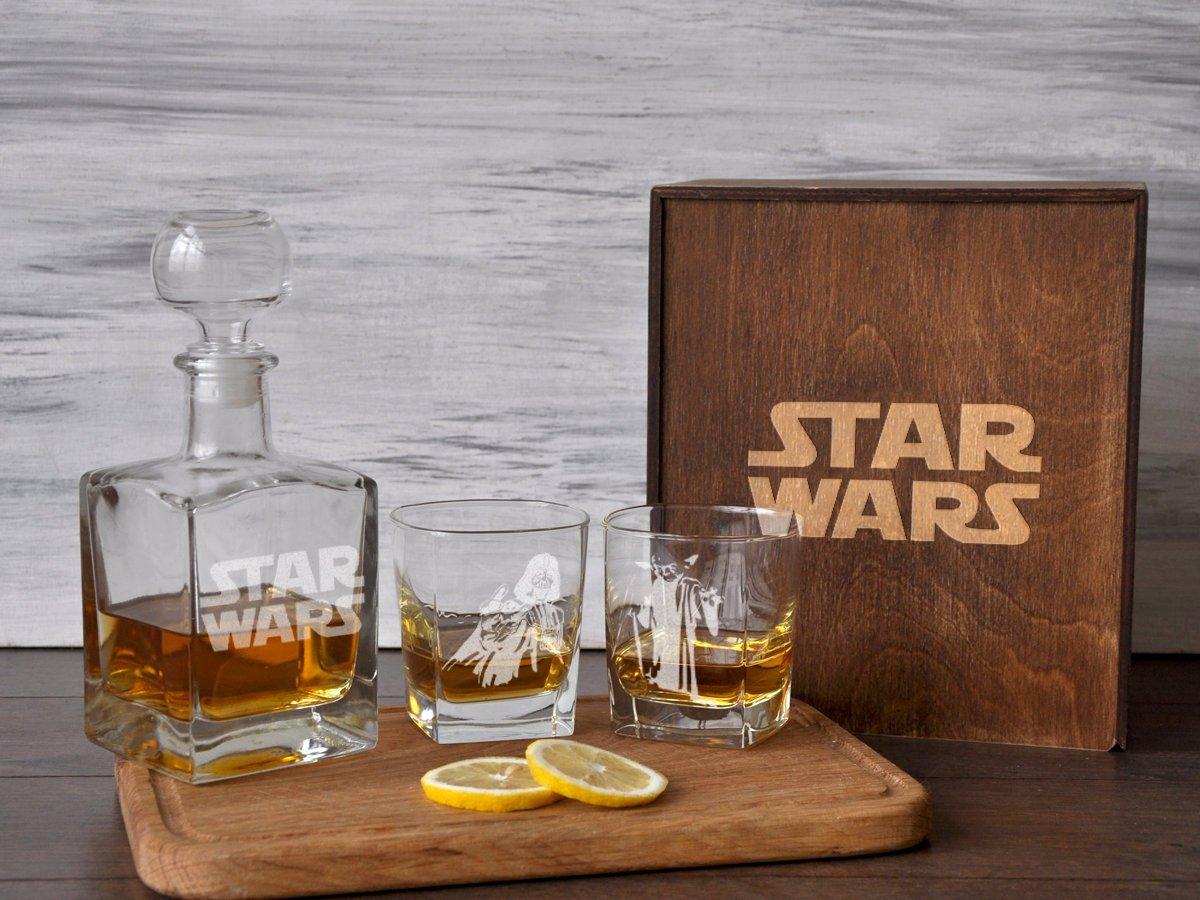Подарочный стеклянный набор «Star Wars»