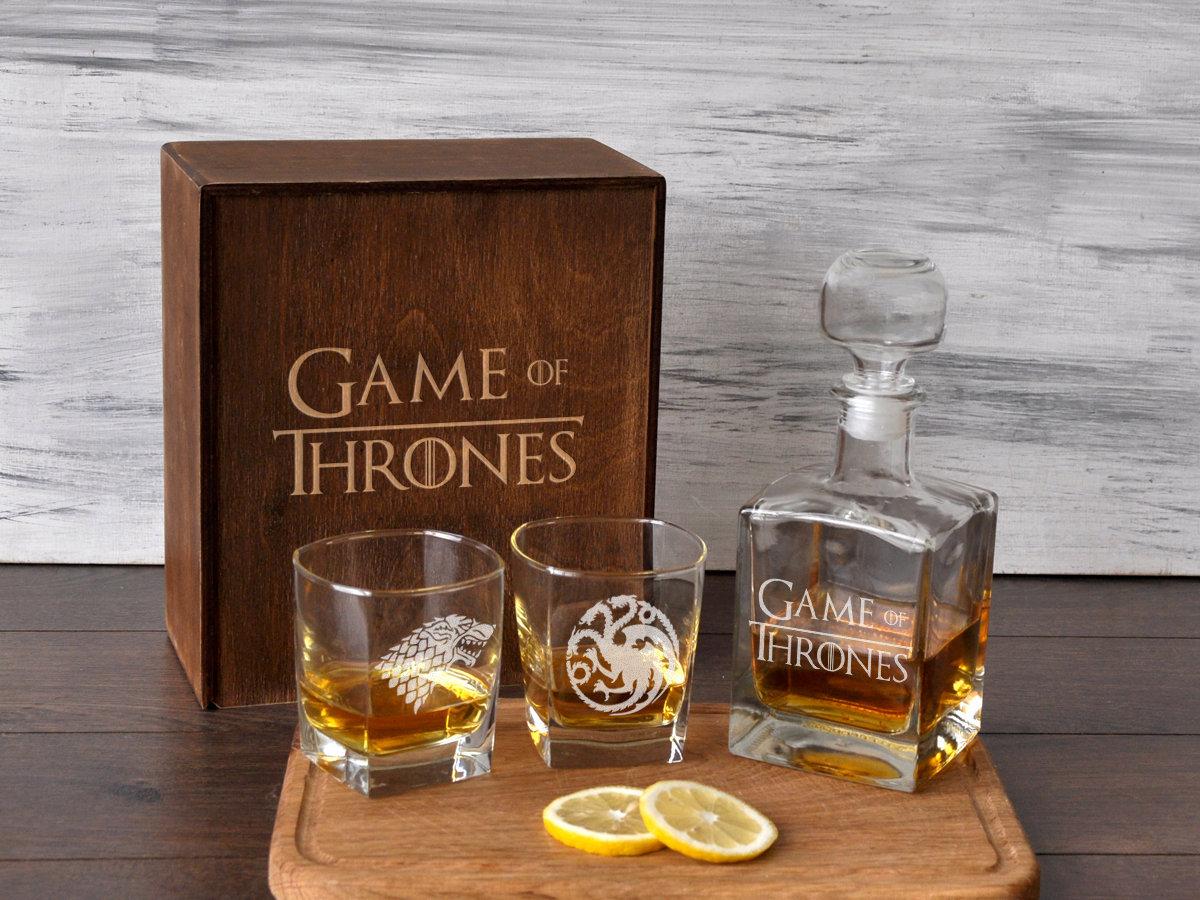 Стеклянный набор для виски «Игра Престолов»