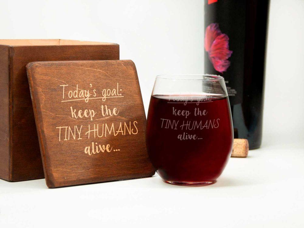 винные стаканы