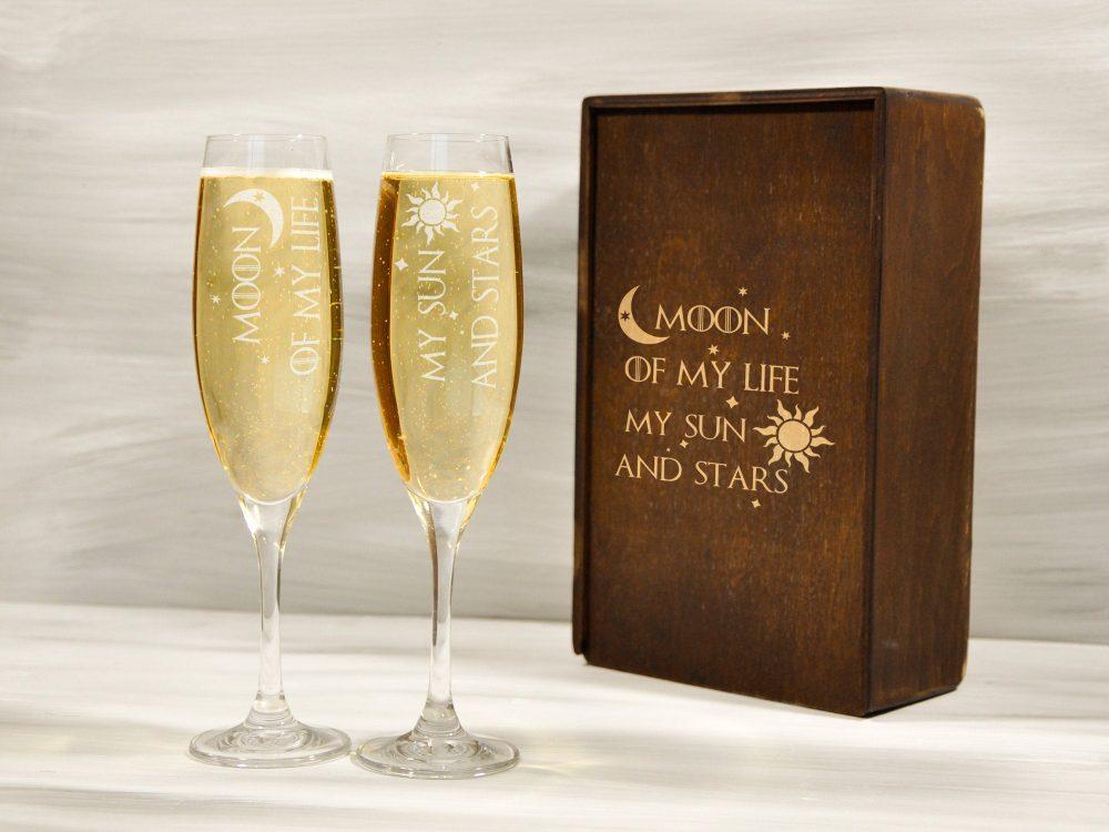 Бокалы для Шампанского «Игра Престолов»
