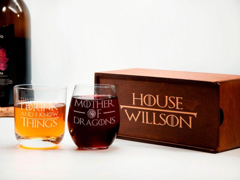 набор вино+виски