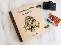 Семейный альбом для фото с магнитными листами под заказ