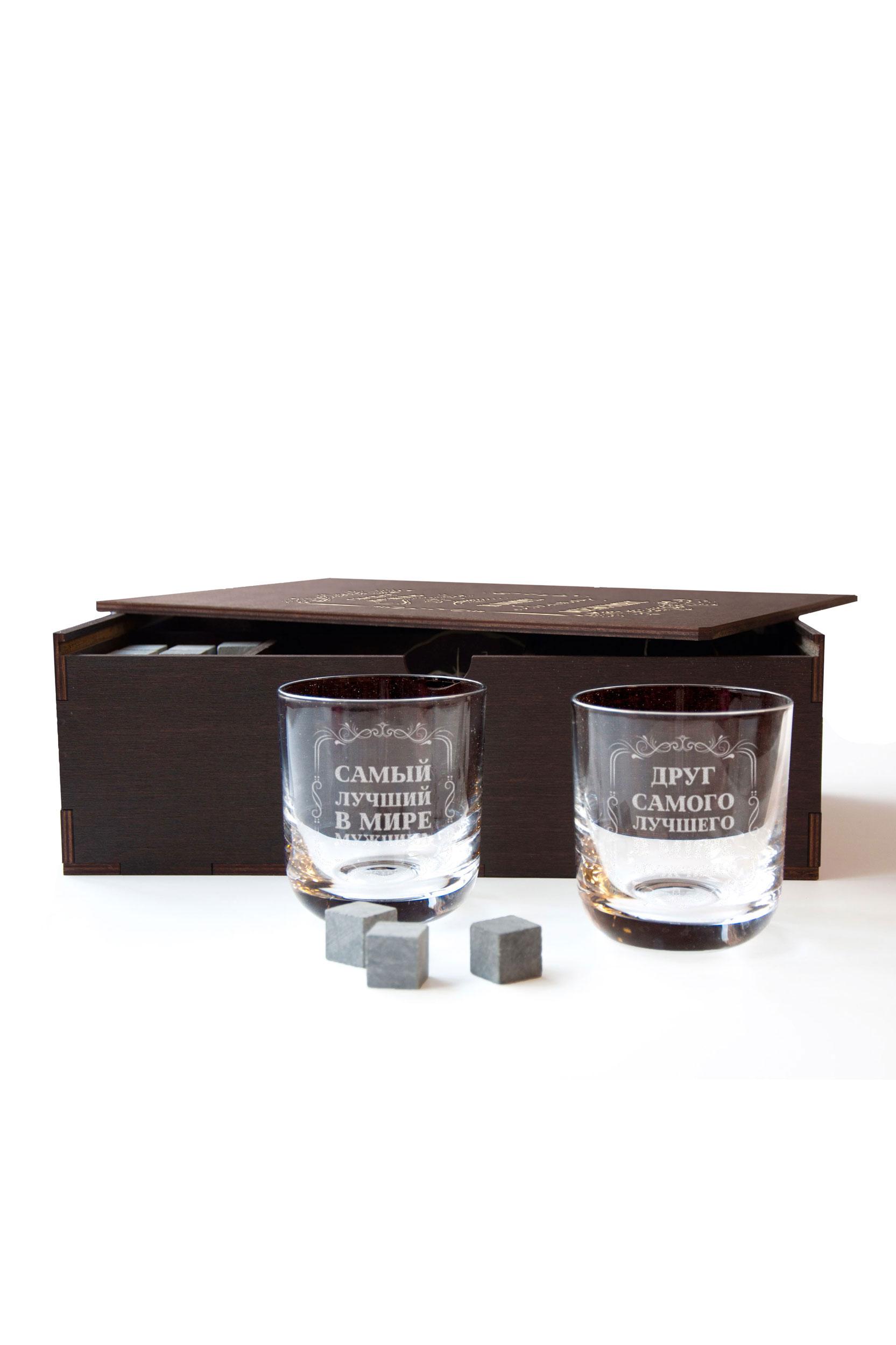 Набор стаканы и охлаждающие камни для виски