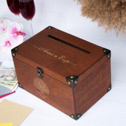 Ящик для конвертов на свадьбу
