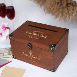 Сундук для конвертов на свадьбу