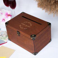 Ящик для денег на свадьбу с гравировкой Always together